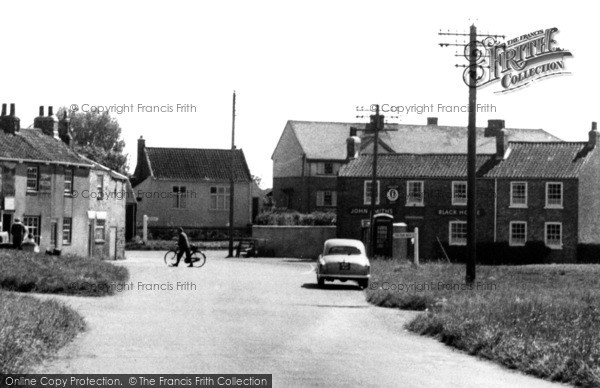 Photo of Atwick, The Black Horse, Hornsea Road c.1960