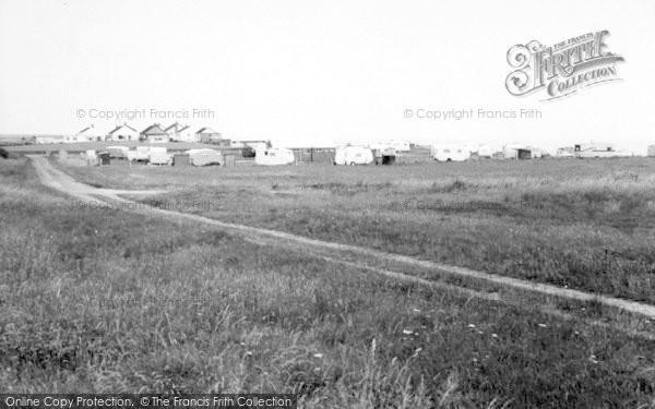 Photo of Atwick, The Caravan Site c.1960