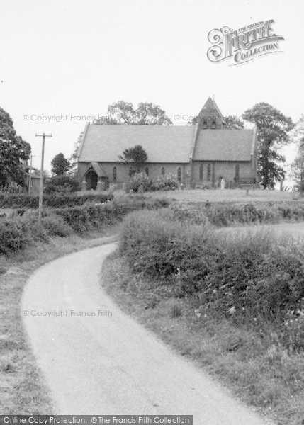 Photo of Atwick, The Church c.1960