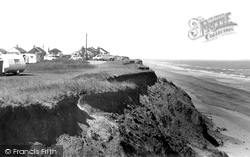 Atwick, The Cliffs c.1960
