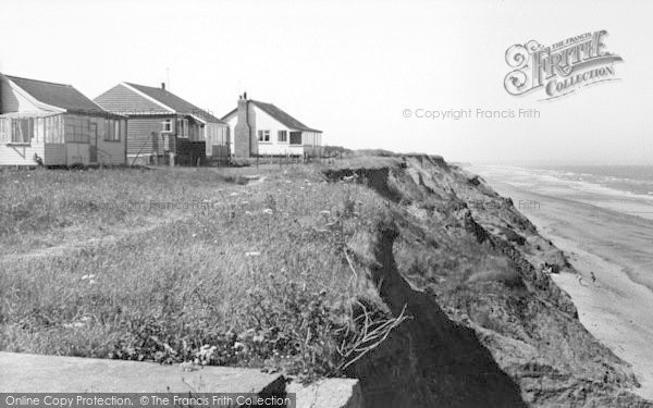 Photo of Atwick, The Cliffs c.1960