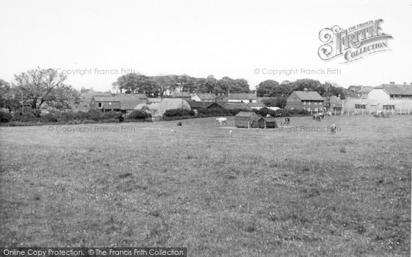 Photo of Atwick, The Village c.1960