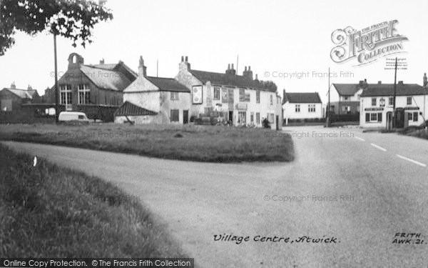 Photo of Atwick, The Village Centre c.1960