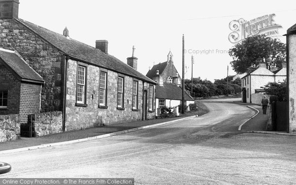 Photo of Auchencairn, Back Street c.1955