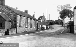 Auchencairn, Back Street c.1955