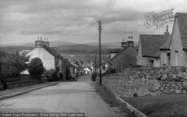 Photo of Auchencairn, Front Street c.1955