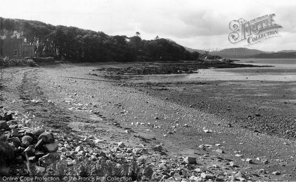 Photo of Auchencairn, The Beach c.1955