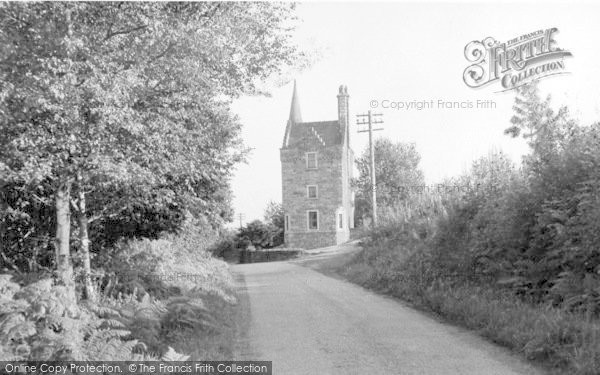 Photo of Auchencairn, The Gate (Tower) House c.1955