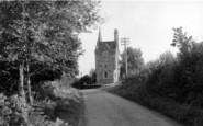 Auchencairn, The Gate (Tower) House c.1955