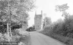 Auchencairn, The Gate (Tower) House c.1955