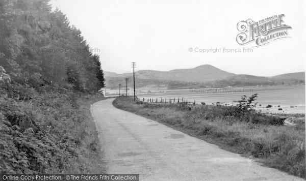 Photo of Auchencairn, The Shore Road c.1955