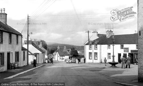Auchencairn, The Square c.1955