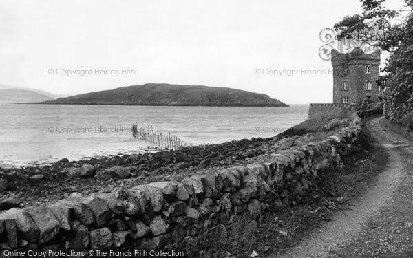 Photo of Auchencairn, The Tower And Heston Island c.1955
