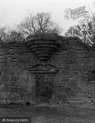 Auchentiber, Clonbeith Castle 1958, Auchentibber