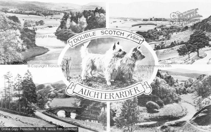 Photo of Auchterarder, Composite c.1950