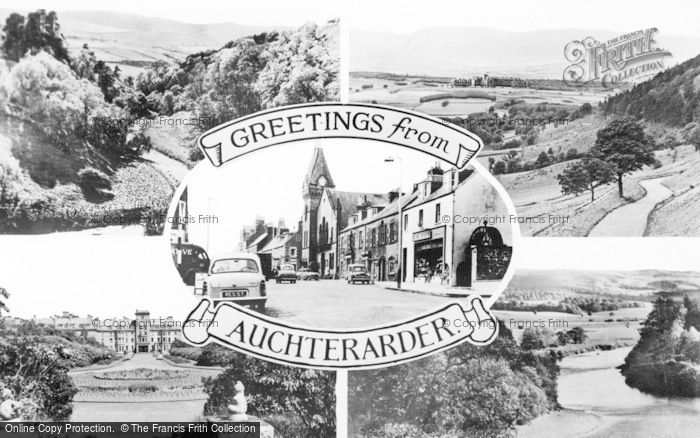Photo of Auchterarder, Composite c.1955