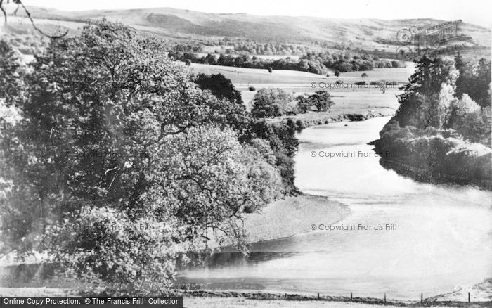 Photo of Auchterarder, The River Earn c.1950