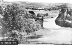 Auchterarder, The River Earn c.1950