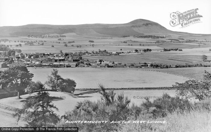 Photo of Auchtermuchty, And The West Lomond c.1930