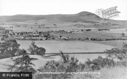 Auchtermuchty, And The West Lomond c.1930