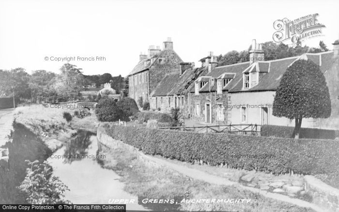 Photo of Auchtermuchty, Upper Greens c.1930