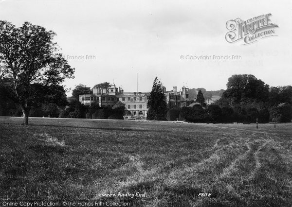Photo of Audley End, 1907