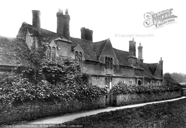 Photo of Audley End, Abbey Farm Almshouses 1907