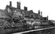 Audley End, Abbey Farm Almshouses 1907