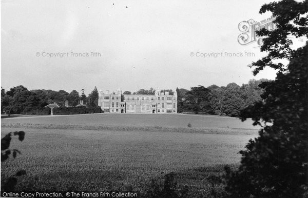 Photo of Audley End, The Mansion c.1955