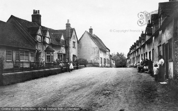 Photo of Audley End, Village 1919
