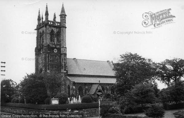 Photo of Aughton, Christ Church c.1960