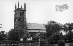 Aughton, Christ Church c.1960