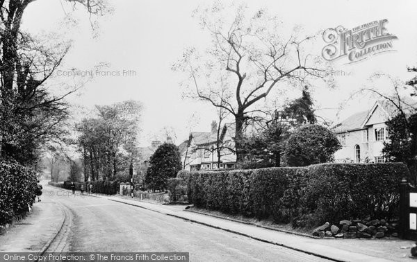 Aughton, Church Lane c.1955
