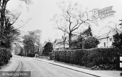 Aughton, Church Lane c.1955