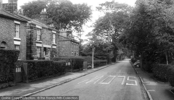 Photo of Aughton, Church Lane c.1960