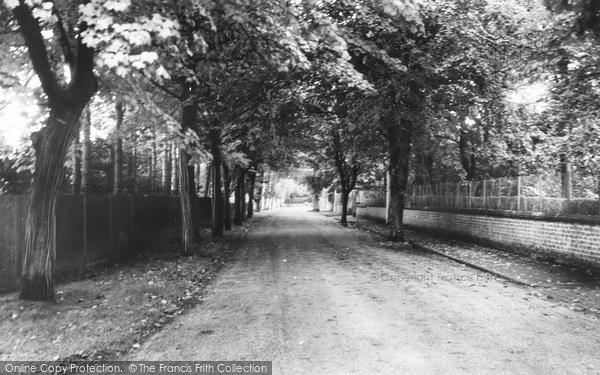 Photo of Aughton, Granville Park c.1960