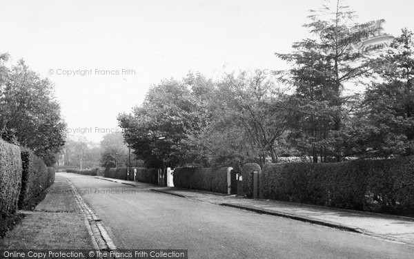 Photo of Aughton, Moss Delph Lane c.1955