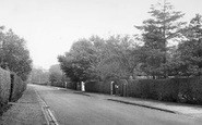 Aughton, Moss Delph Lane c.1955