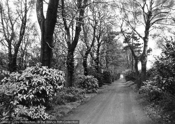 Photo of Aughton, Quarry Drive c.1955