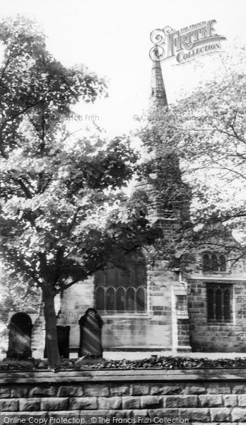 Photo of Aughton, St Michael's Church c.1960