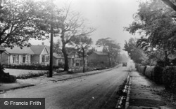 Aughton, Swanpool Lane c.1955