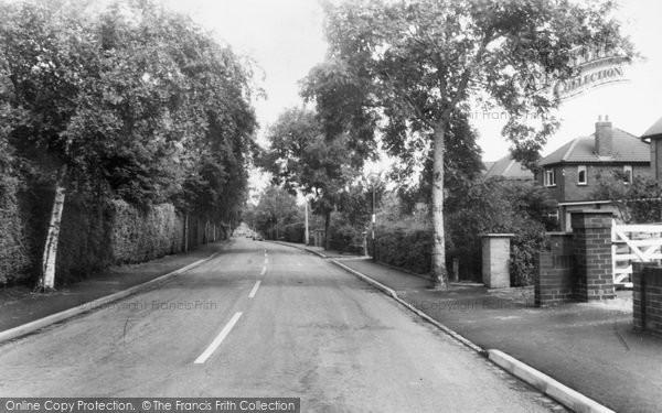 Photo of Aughton, Swanpool Lane c.1960
