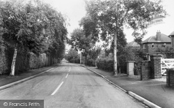 Aughton, Swanpool Lane c.1960