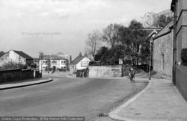 Photo of Aughton, The Village c.1955