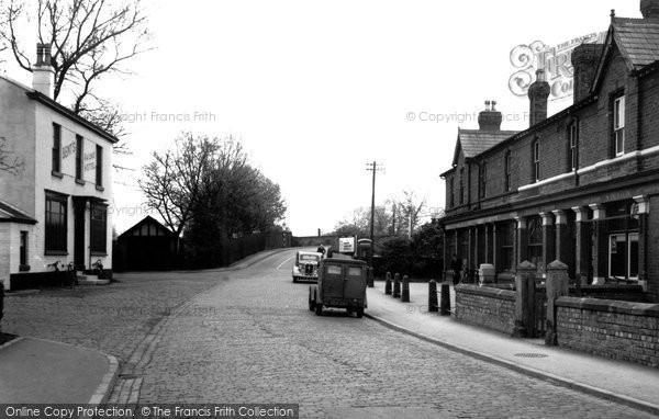 Photo of Aughton, Town Green c.1950