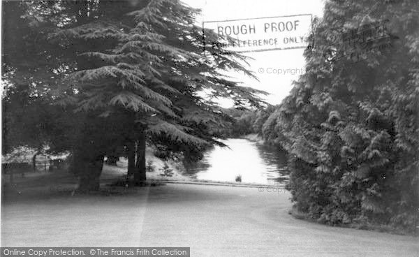 Photo of Auldgirth, The River Nith c.1960