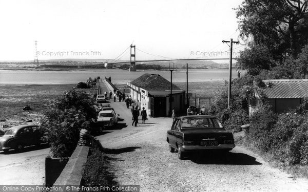 Photo of Aust, Ferry And The Severn Bridge c.1966