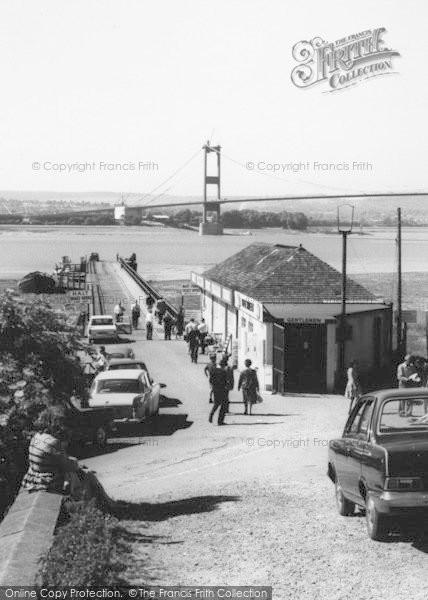 Photo of Aust, Ferry And The Severn Bridge c.1966