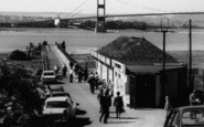 Aust, Ferry And The Severn Bridge c.1966