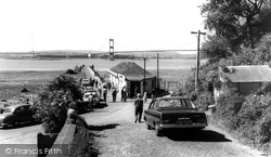 Aust, Ferry And The Severn Bridge c.1966